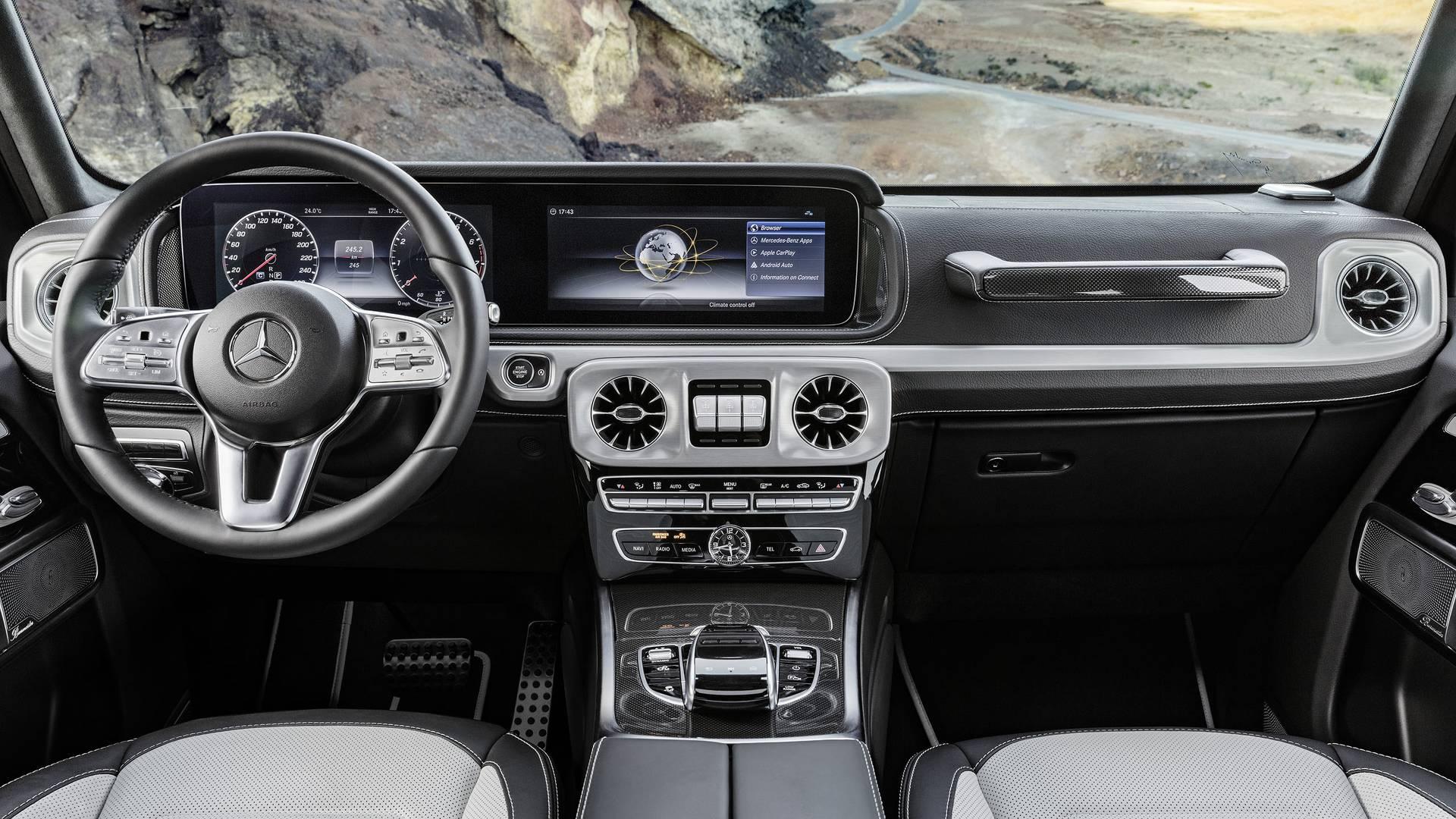 Mercedes g wagon interior parts for Mercedes benz interior parts