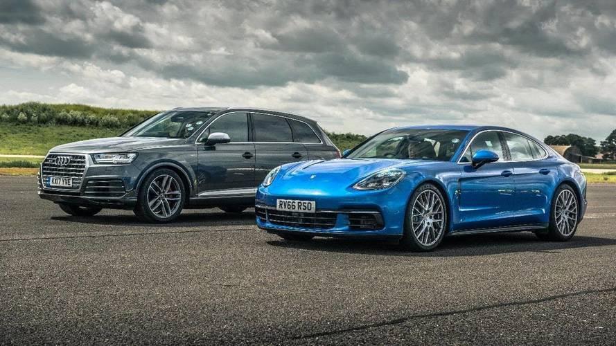 Dizel Düellosu: Audi SQ7 vs Porsche Panamera 4S Drag Yarışı