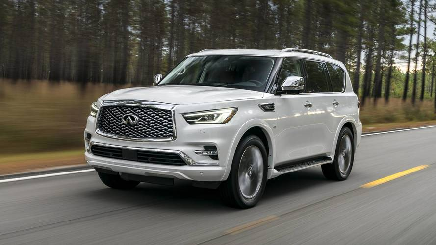 2018 Infiniti QX80 First Drive: The Wayback Machine