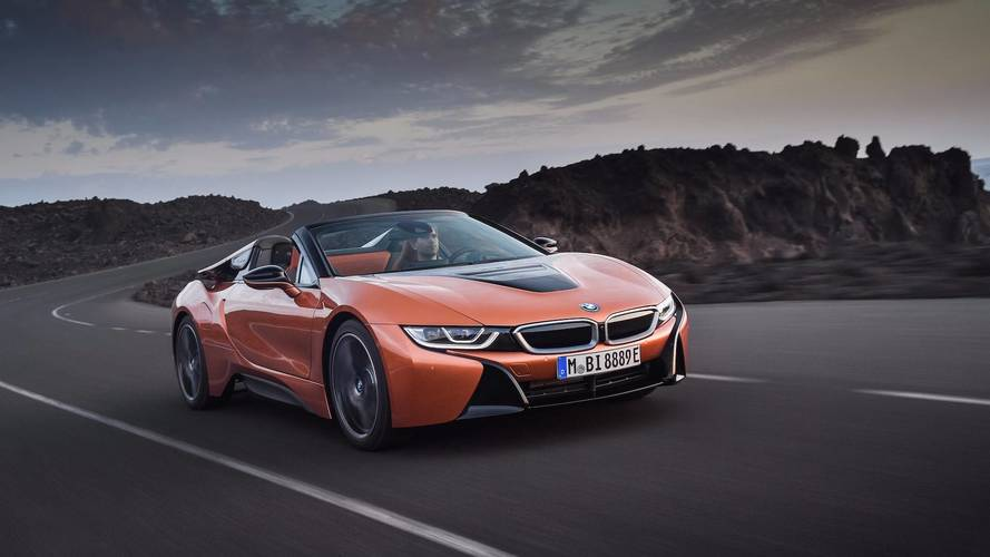 Updated BMW i8 and new i8 Roadster revealed