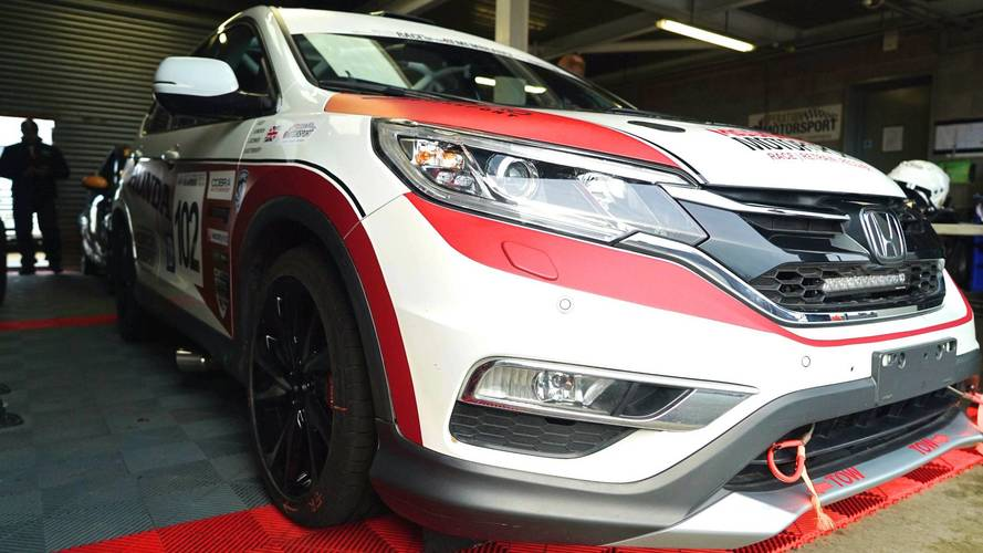 Honda CR-V Race Car first drive: Wonderfully relaxing