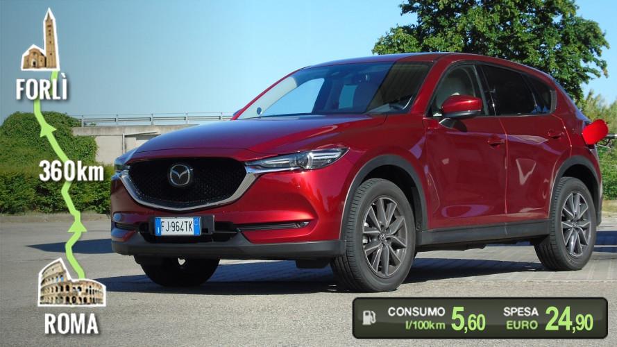 Mazda CX-5 Diesel, la prova dei consumi reali