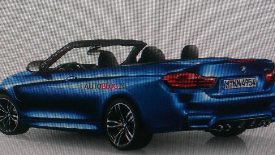 2014 BMW M4 Convertible leaked?