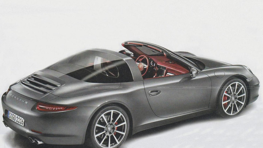 Porsche 911 Targa leaked? [UPDATED]