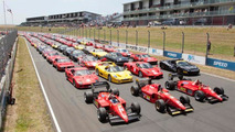 140 Ferraris at Hampton Down MotorSport Park for New Zealand Festival of Motor Racing