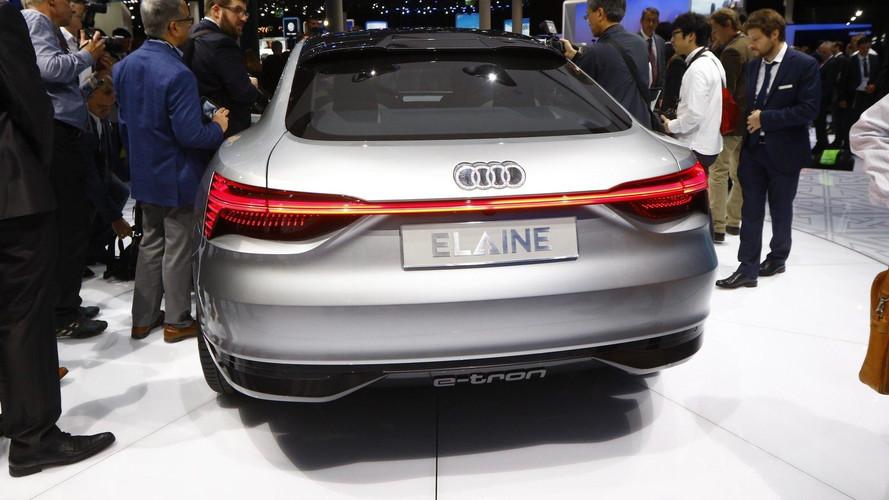 Audi Elaine konsepti 4. Seviye otonomlukla geldi