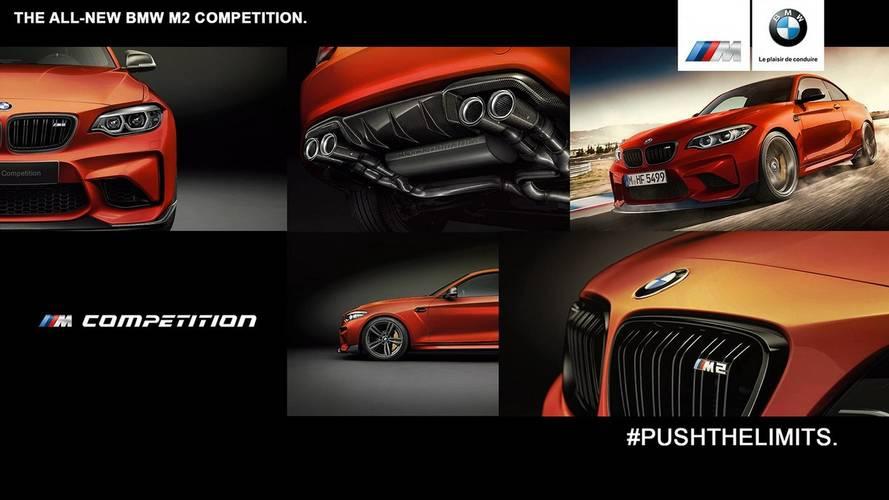 BMW M2 Competition Renderkép