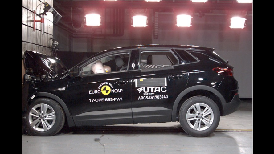 EuroNCAP: Neun neue Autos im Crashtest