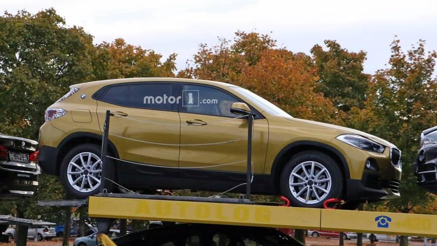 2018 BMW X2 Drops 99 Percent Of Its Camo In New Spy Shots