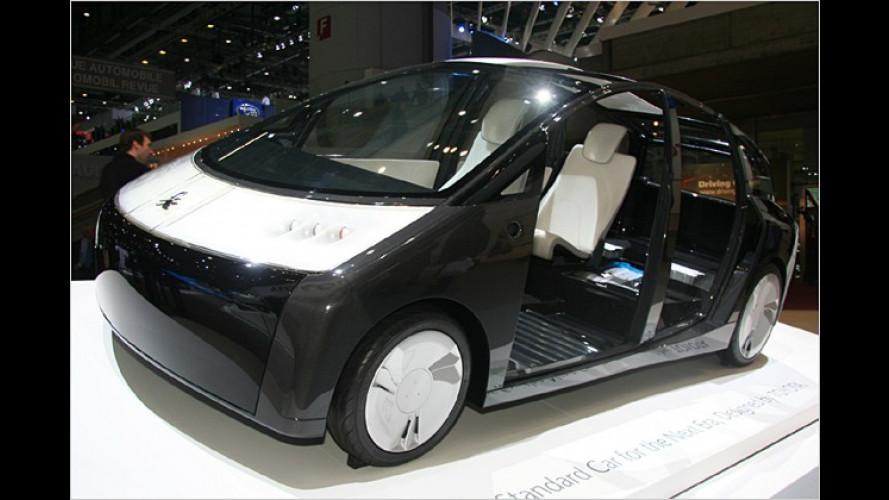 Toyota 1/X: Leichte Lösung für die automobile Zukunft