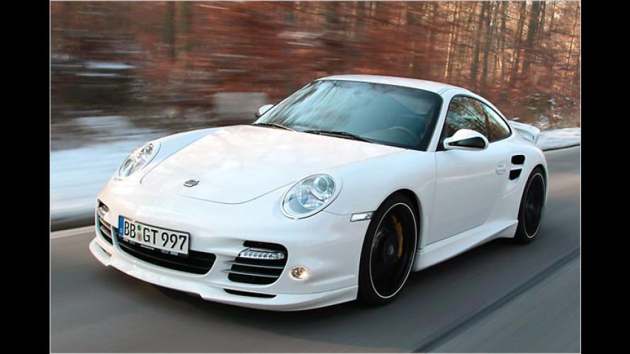 Neue Kleider für den Porsche 911 Turbo von TechArt