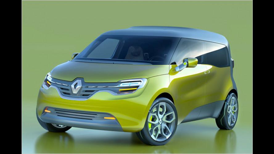 Renault-Studie Frendzy: Kombivan mit Doppelnutzen