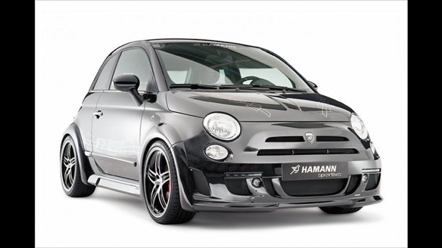 Ist der breit, Mann: Fiat 500 wird zum Hamann Largo