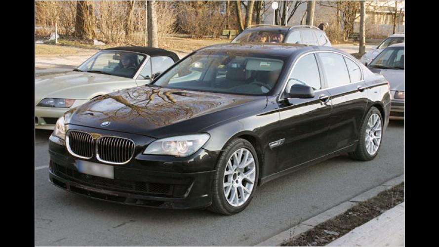 Stärkster Serien-7er als Erlkönig erwischt: BMW Alpina B7