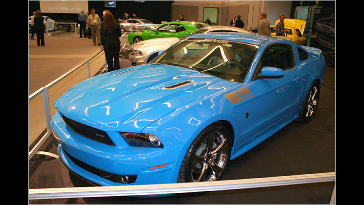 Ford Mustang SMS