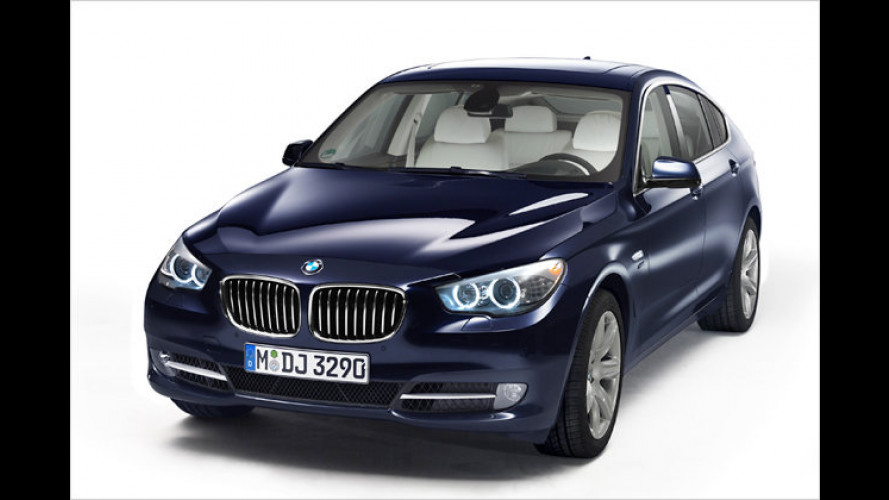 BMW 5er Gran Turismo und 740d jetzt mit Allrad