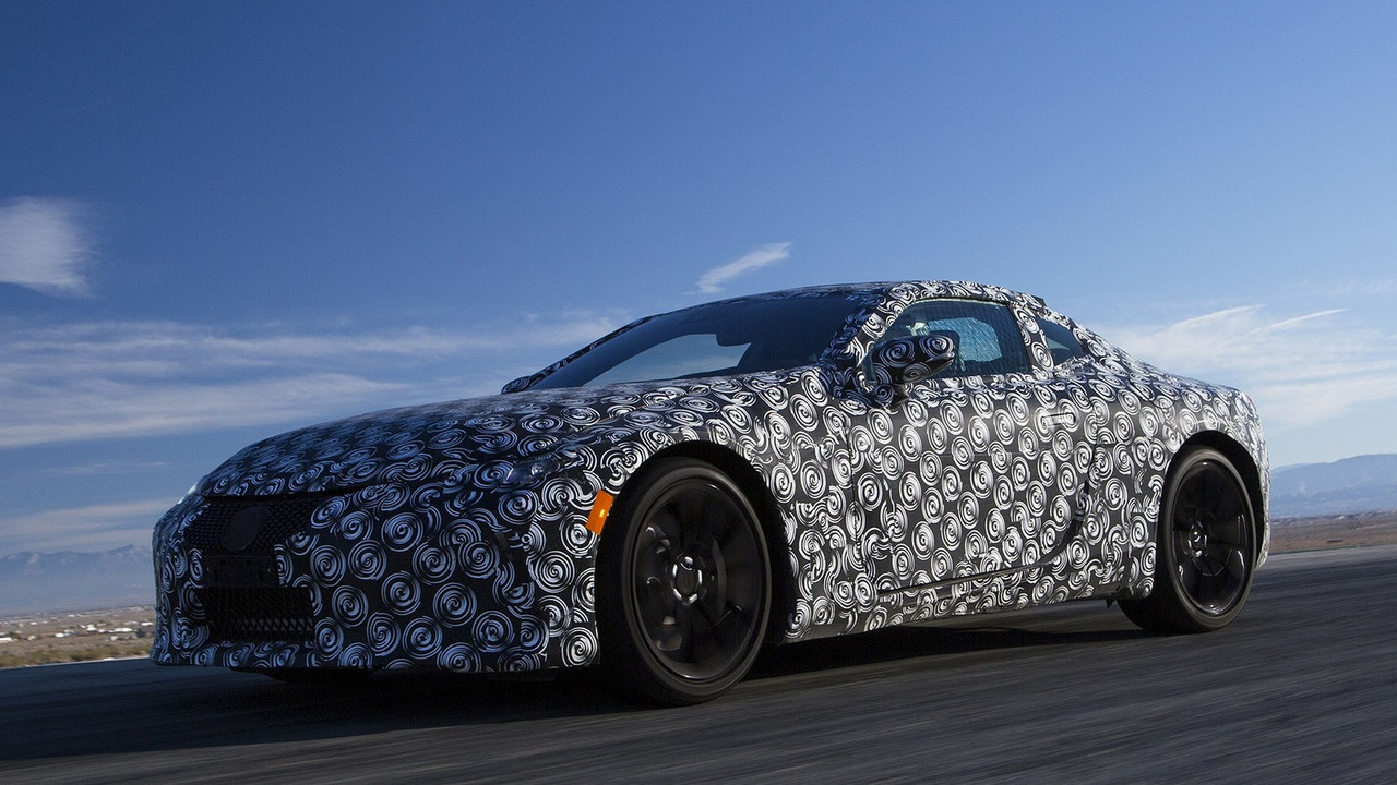 2018 Lexus LC 500 Prototype First Drive