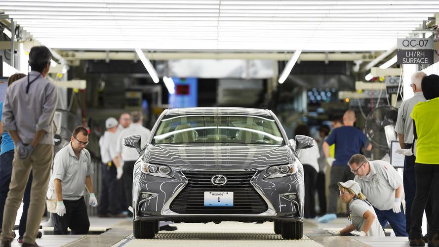 Lexus starts production in U.S.