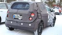 2011 Chevrolet Aveo spy photo - 20.01.2010
