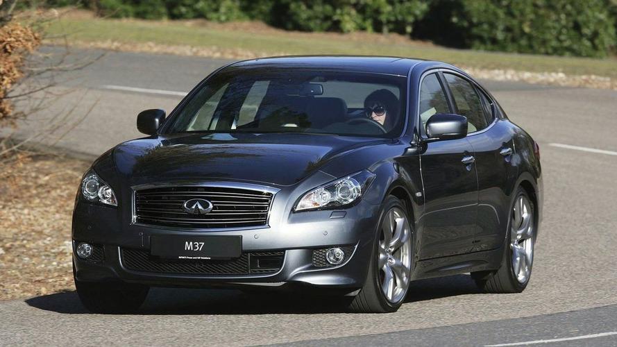 Infinti M Sedan Announced for Europe - Debut in Geneva