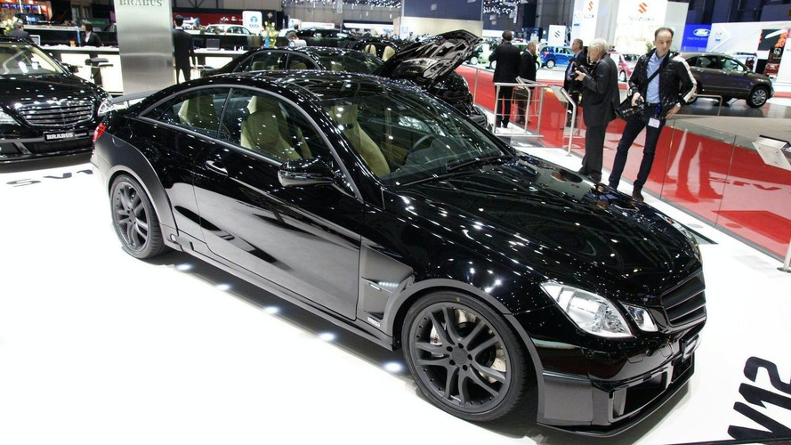 BRABUS E V12 Coupe with 800PS Pounds into Geneva