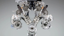 BMW 6.0 Liter V12 Twin-Turbo Engine