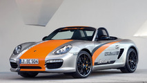 Porsche Boxster E prototype unveiled