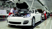 Porsche Panamera production