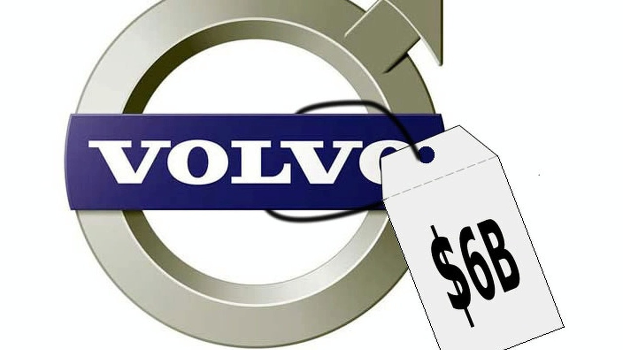 Volvo $6 billion price tag