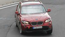 Red BMW X1 Prototype Virtually Undisguised on Nurburgring