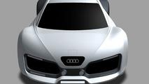 Audi RS7 Concept Artist Design Interpretation