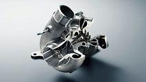 Subaru Impreza WRX STI spec C ball bearing type twin scroll turbocharger
