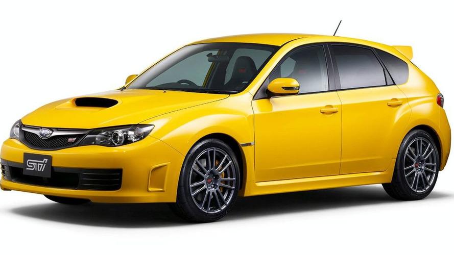 Subaru Impreza WRX STI spec C launched in Japan