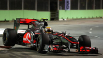Scare for McLaren in new front wing's transit