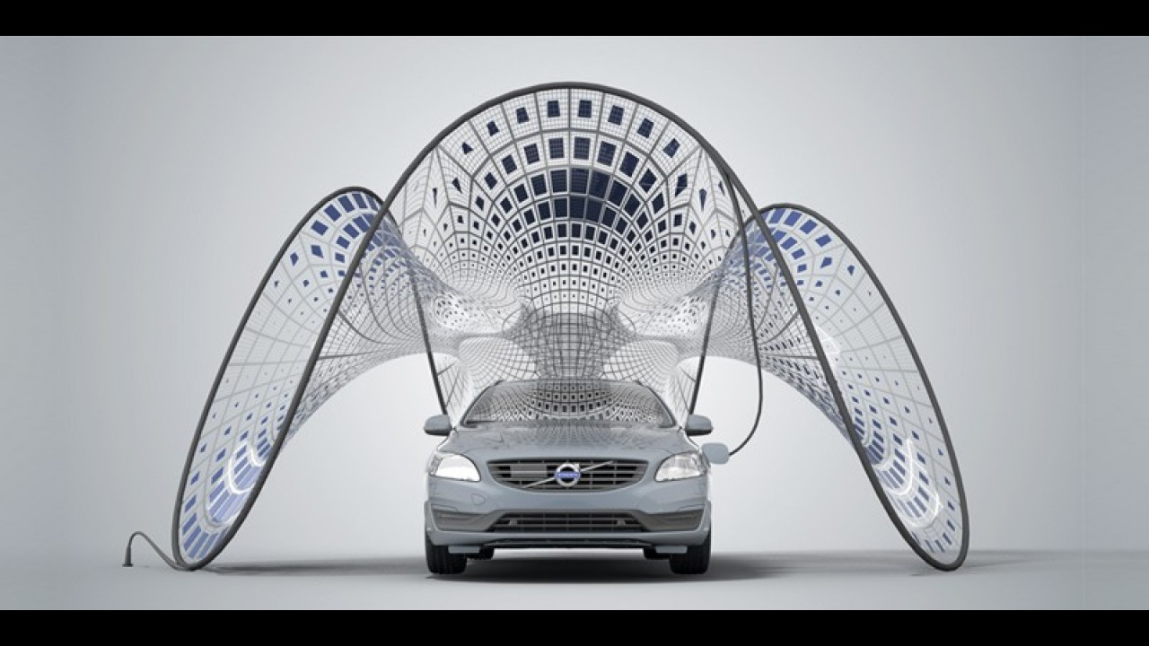 Volvo Pure Tension é conceito ecológico com super painéis solares