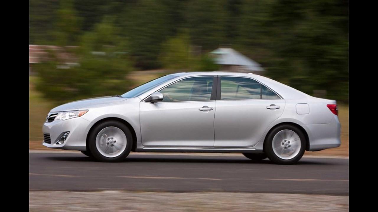 Novo Toyota Camry deverá custar a partir de R$ 90 mil
