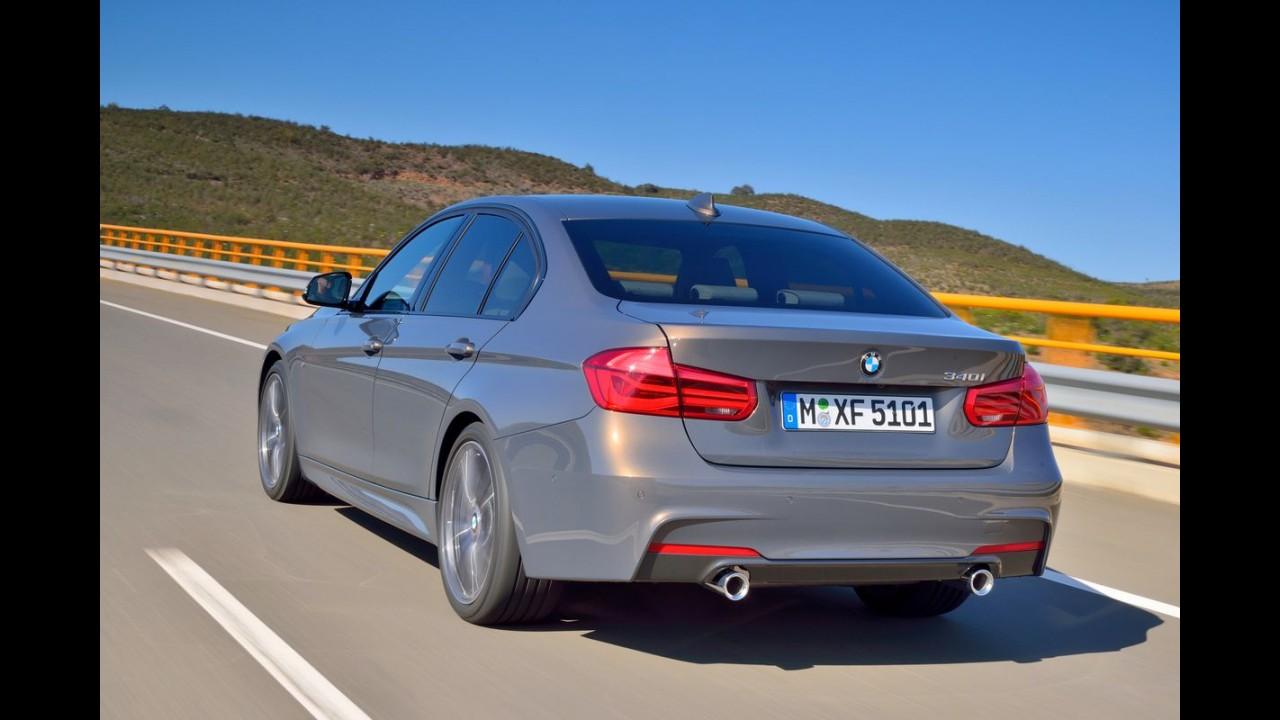 BMW Série 3 2016 recebe retoques no visual e novos motores - veja galeria