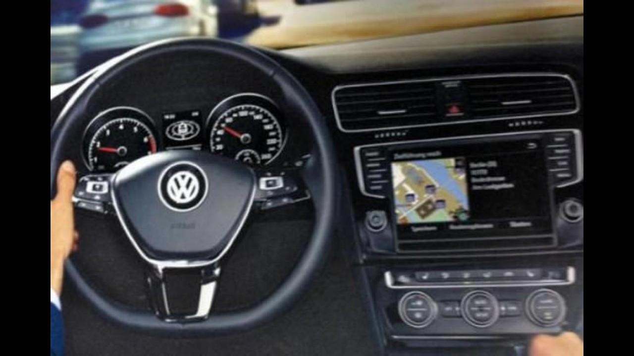 Novo Golf 2013 - Vazam possíveis imagens da sétima geração do hatch médio alemão