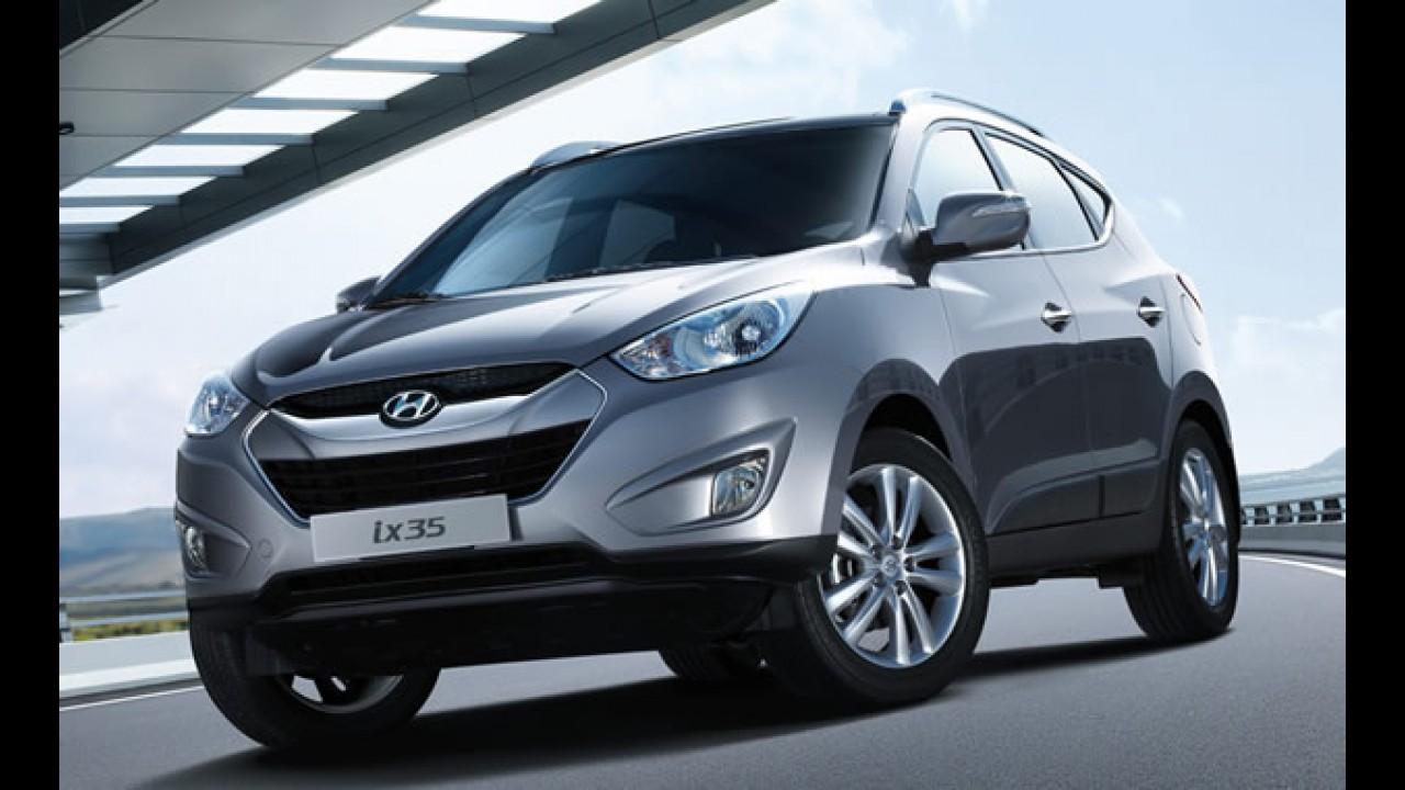 Hyundai ix35 já está à venda no Brasil, mas só nas cores preta e prata