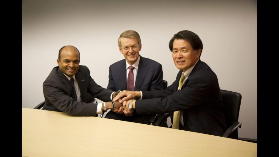 Daimler, Ford e Nissan firmam parceria para o desenvolvimento de células de combustível