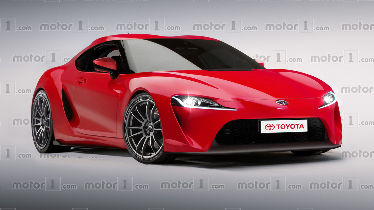 2018 Toyota Supra Render Motor1 Com Photos