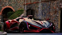 1,400-bhp Inferno Supercar Looks Like An Alien