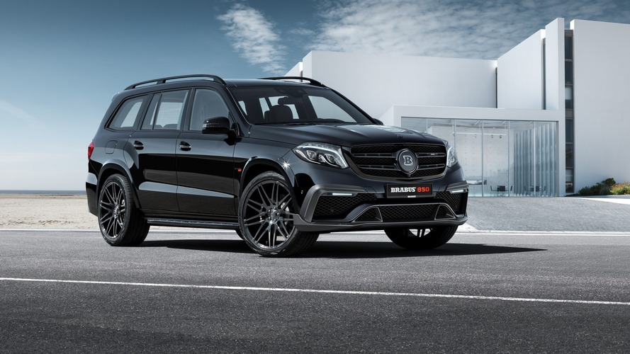 Brabus Mercedes GLS63 with 1,070 lb-ft can probably move mountains