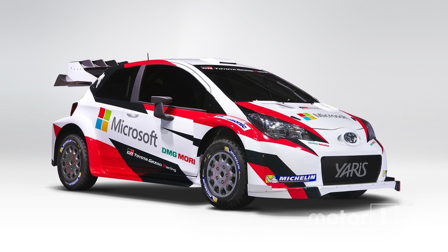 Microsoft s'associe à Toyota en rallye