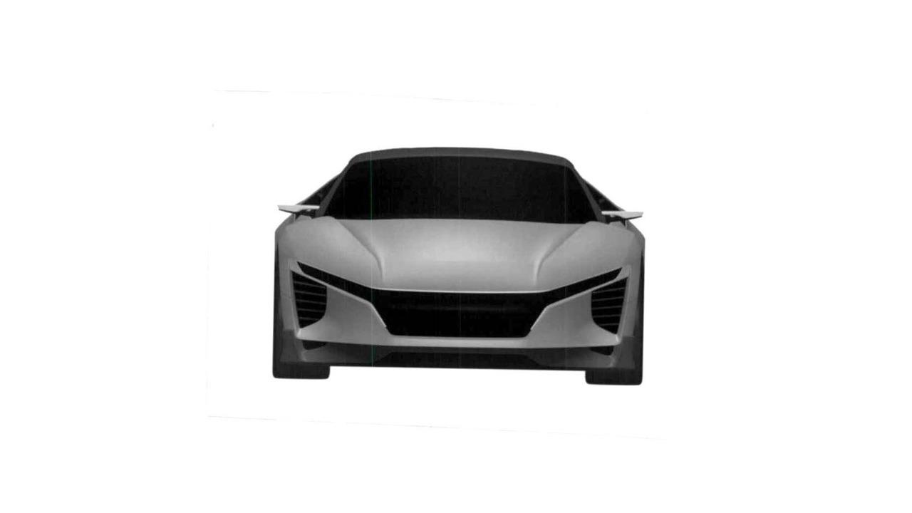 Acura sub-NSX sports car