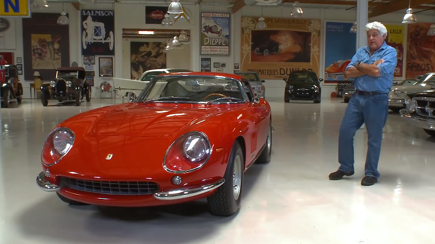 Jay Leno, 1967 model Ferrari 275 GTB4'e övgüler yağdırıyor