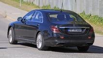2018 Mercedes S-Class facelift spy photo