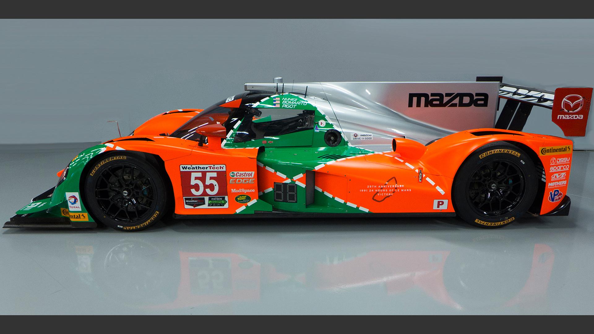 prototypes get vintage Le Mans livery for Watkins Glen race