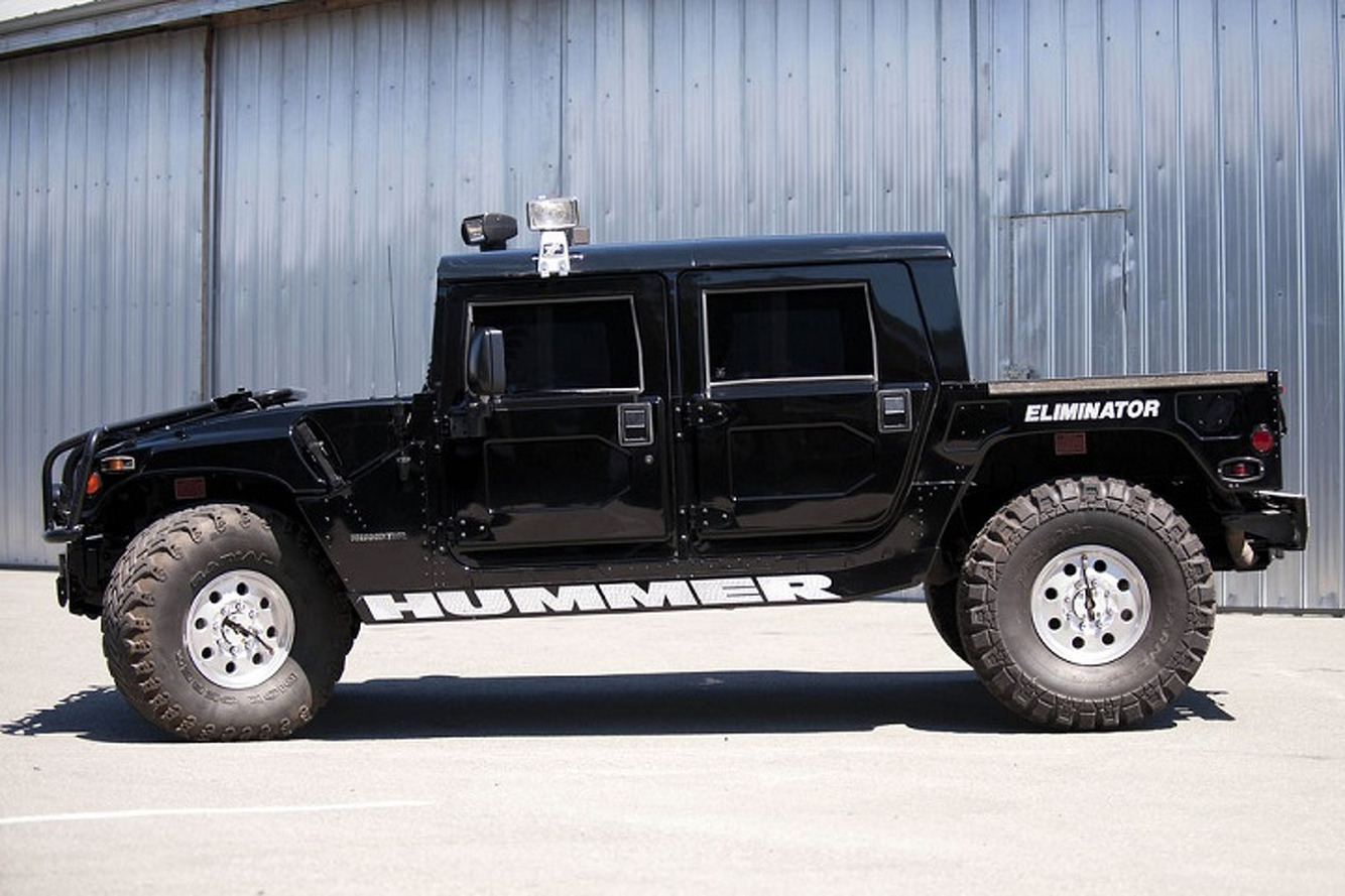 Hummer 2004 hummer h1 : Tupac Shakur's 1996 Hummer H1 is for Sale