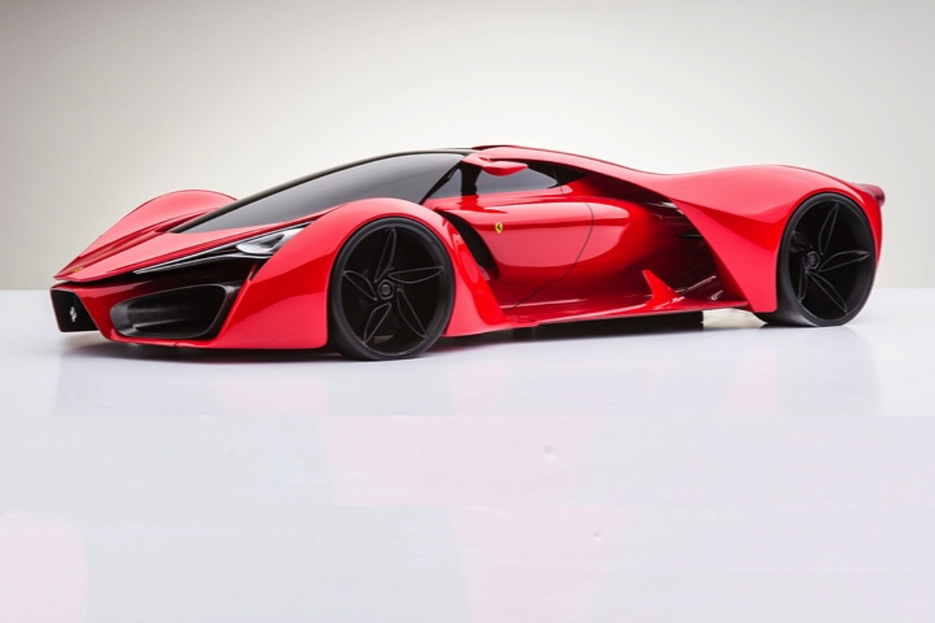 Is The Hp Ferrari Hypercar Of The Future